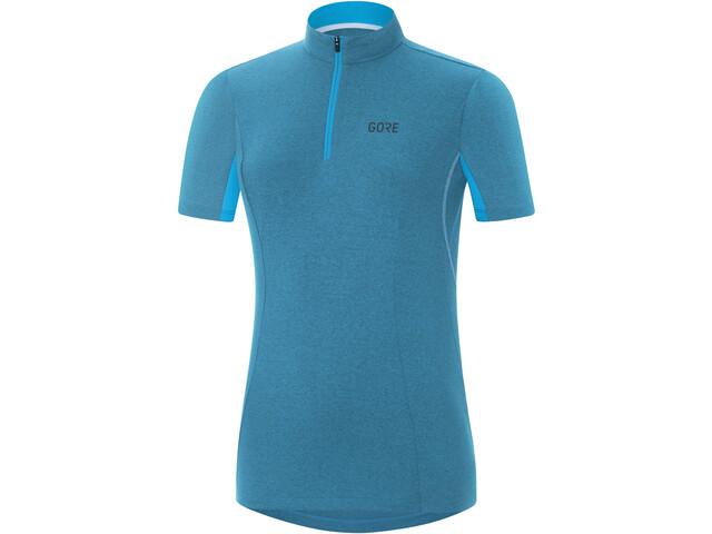 GORE WEAR C3 maglietta a maniche corte Donna blu